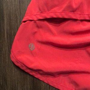 lululemon athletica Shorts - Hot Pink Lululemon speed shorts